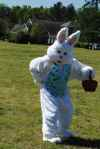 Easter Bunny At 2012 Governors Village Easter Egg Hunt - 6