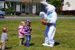 Easter Bunny At 2012 Governors Village Easter Egg Hunt - 7