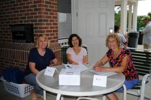 Registration at 2012 Annual Pool Party