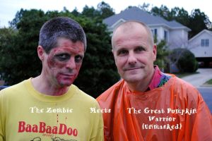 The Zombie and Great Pumpkin Warrior