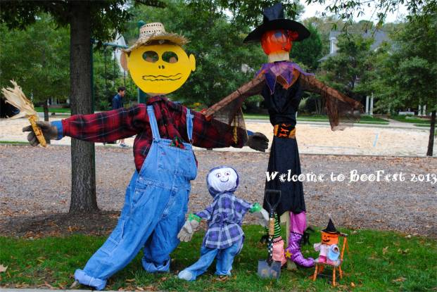 Welcome To BooFest 2013 -Scarecrow Decorating Contest