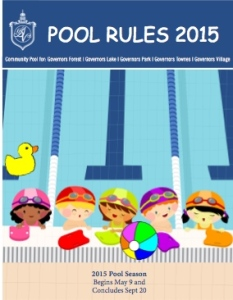 Pool Rules 2015 graphic