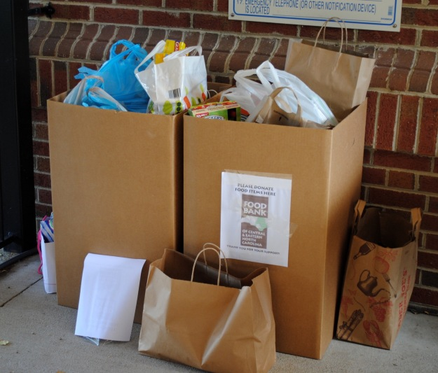 Generous contributions benefit the Food Bank