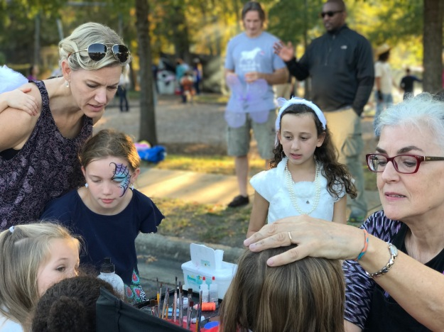 Face painting was a highlight for many at 2016 BooFest