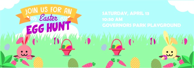 Governors Village Easter Egg Hunt FB Banner 2019